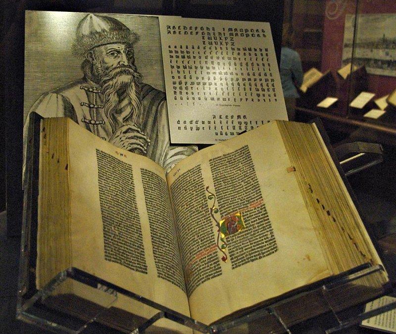 gutenberg bible johns world view