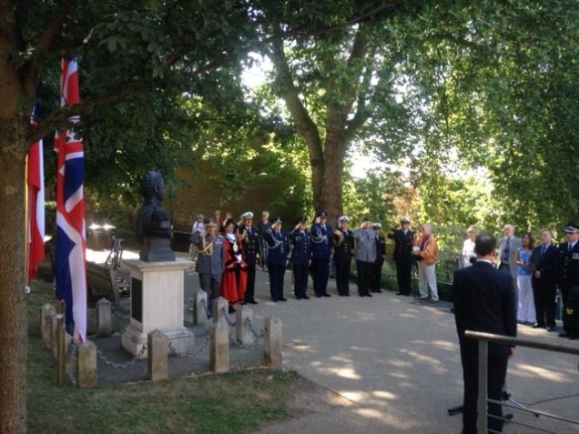 Bernardo-OHiggins-ceremony-Richmond