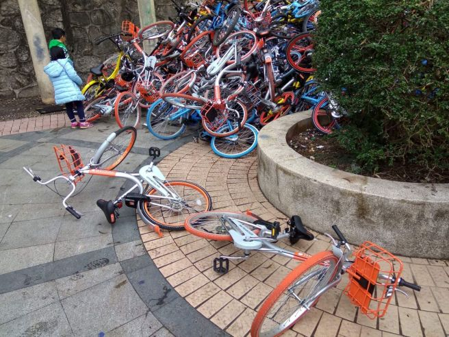 CHINA-OFFBEAT-TECHNOLOGY-BIKE-ECONOMY