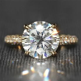 4-Carat-ct-F-Color-Engagement-Wedding-Lab-Grown-Moissanite-Diamond-Ring-With-Real-Diamond-Accents