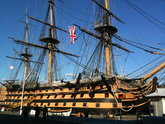 hms-victory-is-hidden